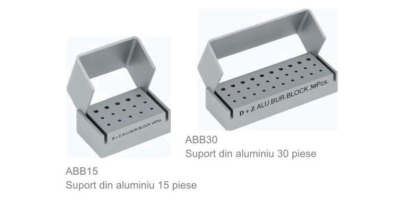 Suporturi din aluminiu pentru freze